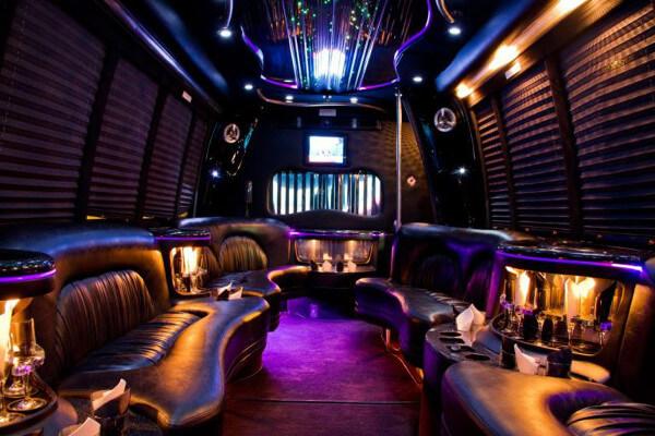 15 Person Party Bus Rental Philadelphia