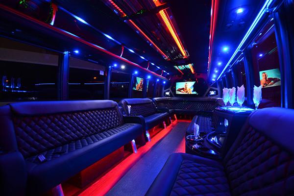 40 Person Party Bus Rental Philadelphia